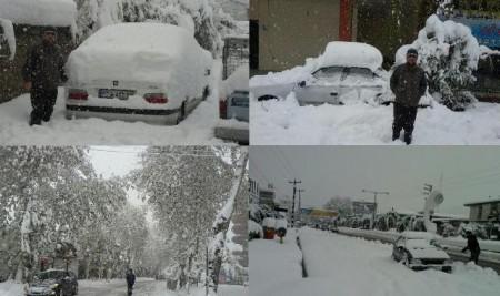 رکورد حداقل دمای آذرماه امسال در مازندران شکسته شد