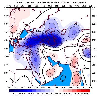 دانلود پاور پوینت اقلیمی تحلیل فضایی مولفه جوی، وقوع دورههای خشک و مرطوب
